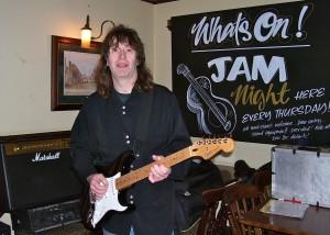 Rob at Jam Night