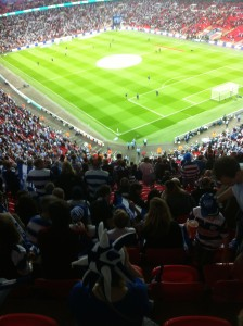 Wembley !
