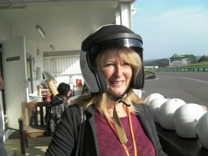 Rosie prepares for her 120mph ride