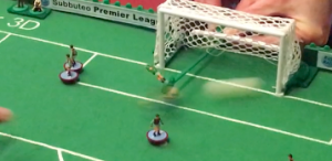 The ball flashes past the West Ham keeper as No.7 scores Chelsea's 4th goal